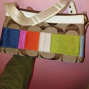 Coach clutch / wallet